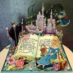 Princess cake Birthday Party for a Princess Pinterest