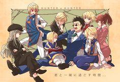 Many Kurapika and Leorio Hunter x Hunter