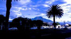 Vista Volcan Imbabura desde el Centro de Ibarra