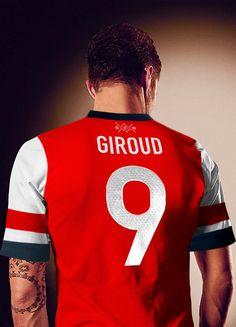 #Arsenal #OlivierGiroud #football #club #AFC