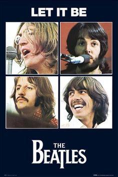 Let it be Foto Beatles, Beatles One, Beatles Poster, Beatles Photos, Beatles Bass, Paul Mccartney Ringo Starr, John Lennon Paul Mccartney, Beatles Album Covers, Beatles Albums