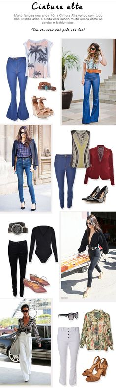 Get Our Look: Cal�a de Cintura Alta! #moda #look #getthelook #comousar #outfit #looknowlook