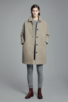 Alp Coat, Cat Sweater, Catrin Trousers and Chelsea Boot | Samuji FW15 Classic Collection