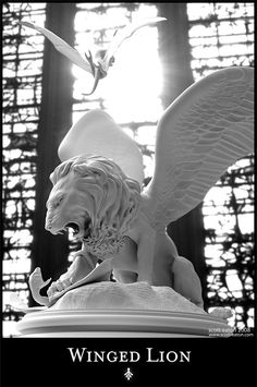 Winged Lion by Scott Eaton
