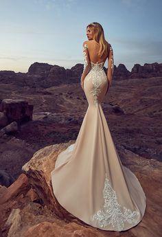 DEYA dress 2017 collections by OKSANA MUKHA in Charme Gaby Bridal salon 727.300.2044 $1400.00