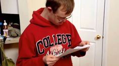 A video of a Dorman High student with Down syndrome getting an acceptance letter into Clemson is going viral.  So happy for him!  Way to go!  :-)