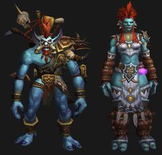 New Troll Models for World of Warcraft: Warlords of Draenor