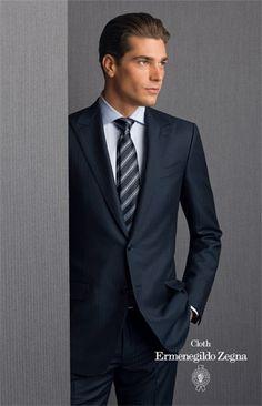 Men Wearing a Zegna Suit