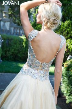 Sleeveless Jovani ball gown