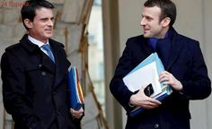 Emmanuel Macron no ficha a Manuel Valls
