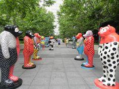Millennium Park | Boeing Galleries (Jun Kaneko exhibit pictured)