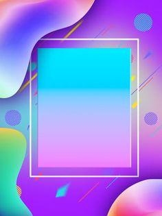 Creative Gradient Poster Background Design