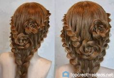 How To Make Rose Braid Hairstyle (VIDEO)