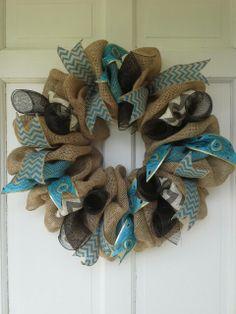Bulap wreath