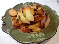 EatingEclectic: Sweet Potato, Onion, and Apple Hash