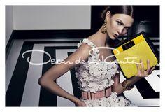 Oscar de la Renta Spring 2012 Ad featuring Karlie Kloss.  Super glamorous.