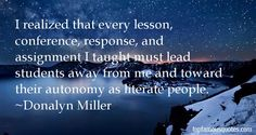 Donalyn Miller quotes: top famous quotes and sayings from Donalyn ...