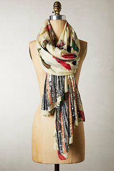 Parc Plume Scarf - anthropologie.comOn Model Front