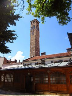 Ottoman Empire has constructed a tower clock to remind the Muslim of 5 daily prayers time.  Tower Clock or sahat-kula is one of the highest structure in the Old Town, built in 17 century,  the clock was brought by Sarajevan traders from London during that period.  Globetrotter: #TravelTips | Things To Do In Sarajevo, Bosnia and Herzegovina (Part 1)
