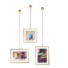Umbra Kette Bilderrahmen - Set mit 3 Stk. Jetzt bestellen unter: https://moebel.ladendirekt.de/dekoration/bilder-und-rahmen/rahmen/?uid=32681dbf-c028-5ced-94be-71d15e7f8b1b&utm_source=pinterest&utm_medium=pin&utm_campaign=boards #bilder #rahmen #dekoration