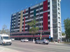În stațiunea Mamaia funcționează cea mai înaltă parcare publică din România