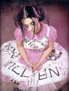 Amy Lee- She's so awesome! =} I love singing to her songs! <3
