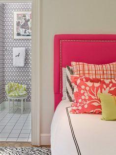 House@heart: Upholstered headboard DIY