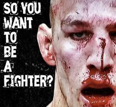 Rory Macdonald during UFC 189 fight w/Robbie Lawler