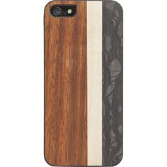 tasteful and masculine iPhone 5 case with wood grain.