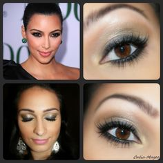 Kim Kardashian Look  beautylish.com (Catia M.)