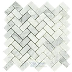 backsplash, or flooring, or shower walls.  Love the gray, the shape, and the pattern.  Yum.