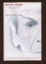 STAR TREK - Vulcan's Soul, book I, EXODUS - by J A Sherman & S Shwartz - NEW HB