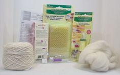 Felting tools felting kit roving wool punch por BeyondtheFringe