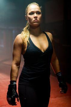 Ronda Rousey (UFC) para o canal Combate (Foto: Daniel Deák / Divulgação)