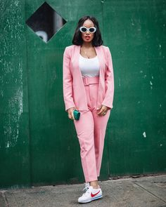 "1,448 Likes, 240 Comments - Fashion & Lifestyle Blogger (@torontoshay) on Instagram: ""Pink is not just a colour. It's an attitude • by @chasingdenisse • http://liketk.it/2uEN3 •…"""