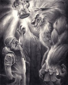 Wolf and the Watchman by SCHARTWORKS on DeviantArt