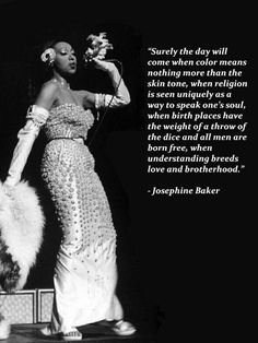 'when religion is seen uniquely as a way to speak one's soul' Josephine Baker, African American Hairstyles, African American History, American Women, Romeo And Juliet Quotes, Inspirational Quotes For Women, Aa Quotes, Daily Quotes, Vintage Black Glamour