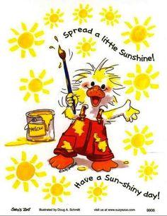 .Suzy Zoo Sunshine.