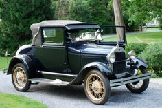 Bid for the chance to own a 1929 Ford Model A Sport Coupe at auction with Bring a Trailer, the home of the best vintage and classic cars online. Vintage Cars, Antique Cars, Lifted Ford Trucks, Abandoned Cars, Classic Cars Online, Koenigsegg, Collector Cars, Bugatti Veyron, Ford Models