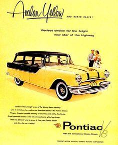 #Pontiac Wagón 1956