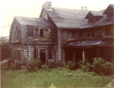 Summerwind Mansion, formerly known as Lamont Mansion, is a ruined mansion on the shores of West Bay Lake in Vilas County, Wisconsin. It is reputed to be one of the most haunted locations in Wisconsin. As a result of abandonment, the elements, and fire, little of the mansion currently remains standing. For a while it was popular with paranormal tourists. Summerwind's ruins are located on private land and are closed to the public. The mansion was featured on an episode of A Haunting.