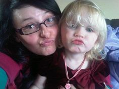 Fun with my teeny tiny God-daughter