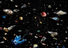 In her photo exhibition 'Soup,' the British photographer Mandy Barker documents plastic debris that's been salvaged from the sea, transforming marine detritus into the stuff of art.