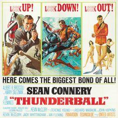 Thunderball * Sean Connery * James Bond 007 movie