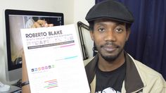 How To Design Your [Graphic Design] Resume by Roberto Blake. Youtube.
