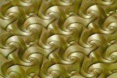 Close view #origami #tessellation #corrugation
