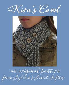 Kira's Cowl ((PDF Crochet Pattern)) - Women Female Neckwear Scarf Neckwarmer Winter Cold Season Christmas Gift Accessory