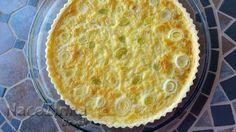 saboreando a vida: Quiche de queijo minas e alho-poró, na Ciranda de Receitas!