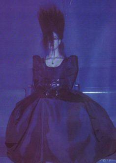 German Goth Girl, 1989
