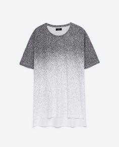 PAINTED T-SHIRT-View all-T-shirts-MAN | ZARA United States